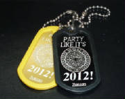 ZLazr Laser Engraving - Anodized Aluminum dog tags with custom lasered artwork.