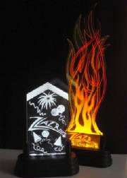 ZLazr Laser Engraving - Acrylic Laser Cut and Laser Engraved LED Edge Lights.